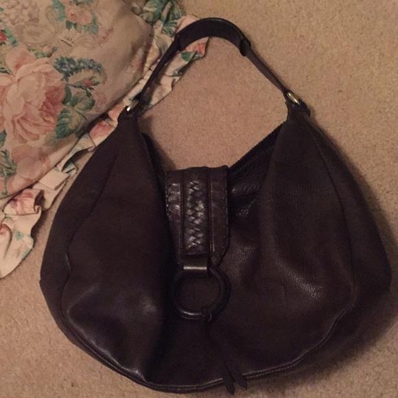 Banana Republic Handbags - Banana Republic leather hobo bag d621e44515053